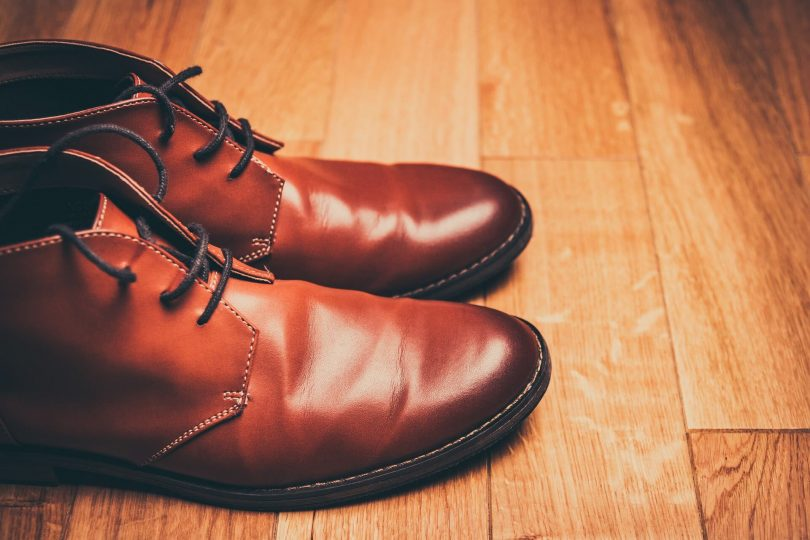 bottines marrons lacet homme